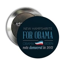"New Hampshirite For Obama 2.25"" Button (10 pack)"