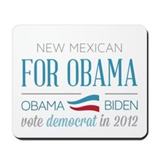 New Mexican For Obama Mousepad