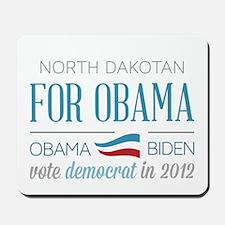 North Dakotan For Obama Mousepad