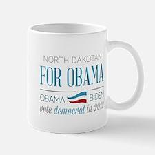 North Dakotan For Obama Mug