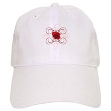 engaged7 redrose.jpg Baseball Cap