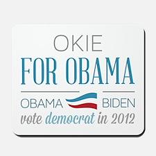 Okie For Obama Mousepad