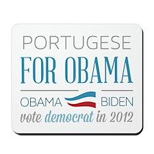 Portugese For Obama Mousepad