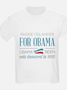 Rhode Oslander For Obama T-Shirt