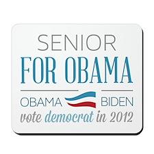 Senior For Obama Mousepad