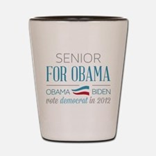 Senior For Obama Shot Glass
