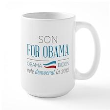 Son For Obama Mug