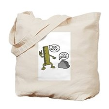 You rock and you rule Tote Bag