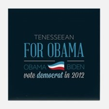 Tenesseean For Obama Tile Coaster