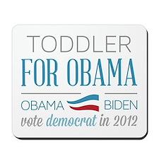 Toddler For Obama Mousepad