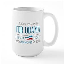 Union Worker For Obama Mug