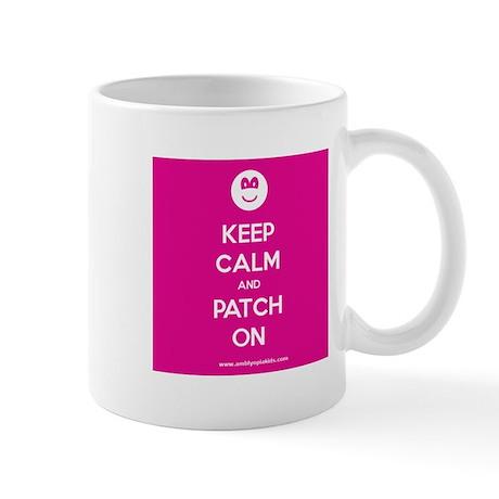 Keep Calm and Patch On Mug