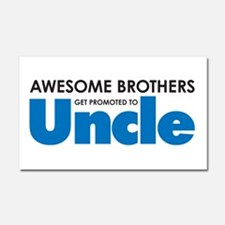 Unique Uncle Car Magnet 20 x 12