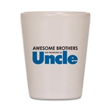 Cute New uncle Shot Glass
