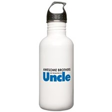 Funny Uncle to be Water Bottle