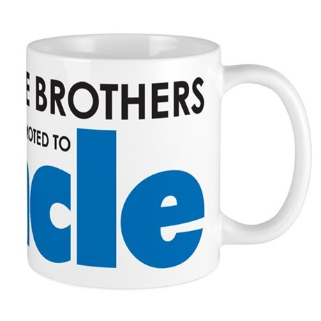 Awesome Brothers Get Promoted to Uncle Mugs