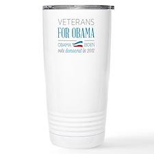 Veterans For Obama Travel Mug