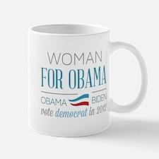 Woman For Obama Mug