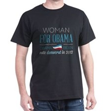 Woman For Obama T-Shirt