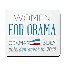 Women For Obama Mousepad