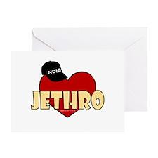 NCIS Jethro Greeting Card