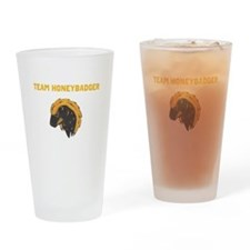 TEAM HONEYBADGER Drinking Glass