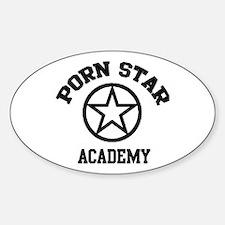 Porn Star Academy Oval Stickers