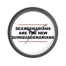 Sexagenarian Wall Clock