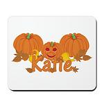 Halloween Pumpkin Katie Mousepad