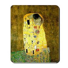 The Kiss Gustav Klimt Mousepad