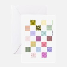 Rainbow Quilt Greeting Card