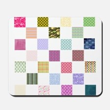 Rainbow Quilt Mousepad