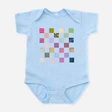 Rainbow Quilt Infant Bodysuit
