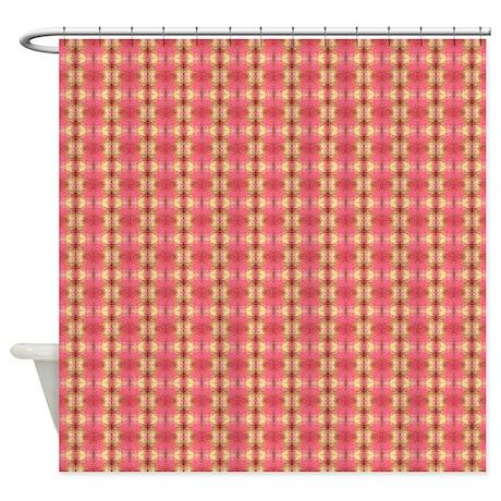 Fancy Girly Pattern Shower Curtain by ShopByDawn