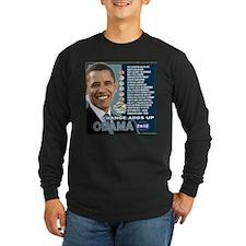 Obama 2012 T-shirts CHANGE ADDS UP T