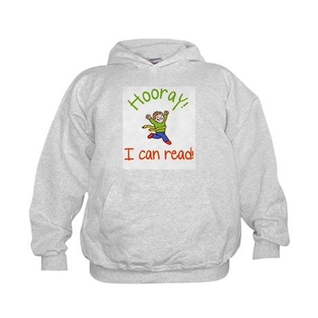 Hooray, I Can Read! Boy Kids Hoodie