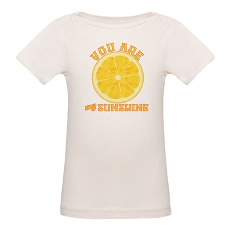 You Are My Sunshine Organic Baby T-Shirt