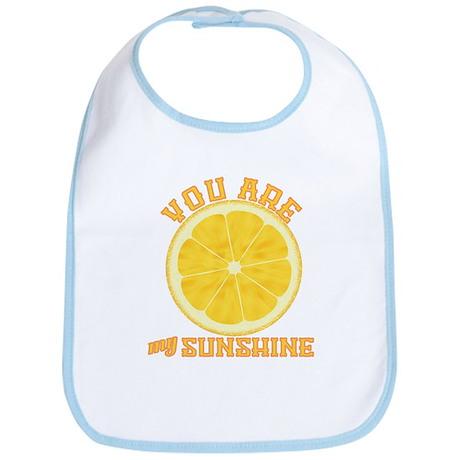 You Are My Sunshine Bib