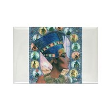 Queen of Egypt Nefertiti Rectangle Magnet (100 pac