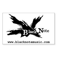 Black Note Decal