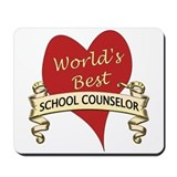 School counselor Classic Mousepad