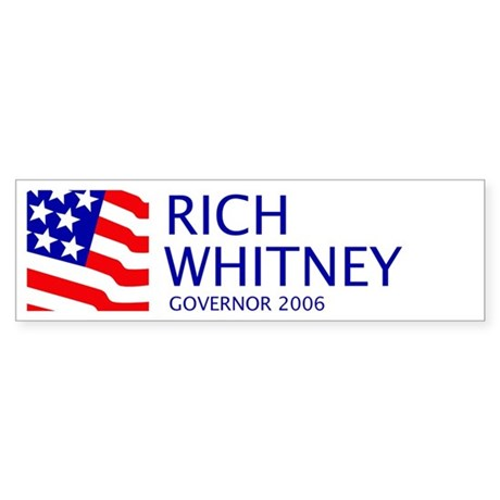 Whitney 06 Bumper Sticker