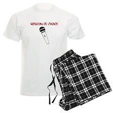 MC Weapon of Choice Microphone Pajamas