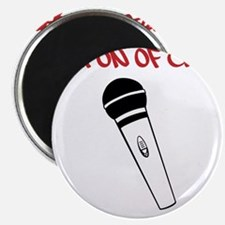 MC Weapon of Choice Microphone Magnet