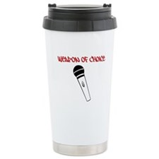 MC Weapon of Choice Microphone Travel Mug