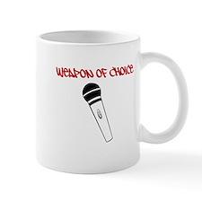MC Weapon of Choice Microphone Small Mug