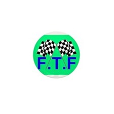 FTF green flag Mini Button