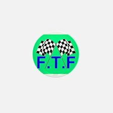 FTF green flag Mini Button