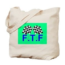 FTF green flag Tote Bag