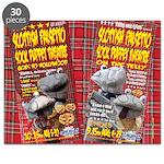 Scottish Falsetto Socks Jigsaw Puzzle